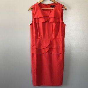 Premise Crew Neck Sleeveless Sheath Dress size 8